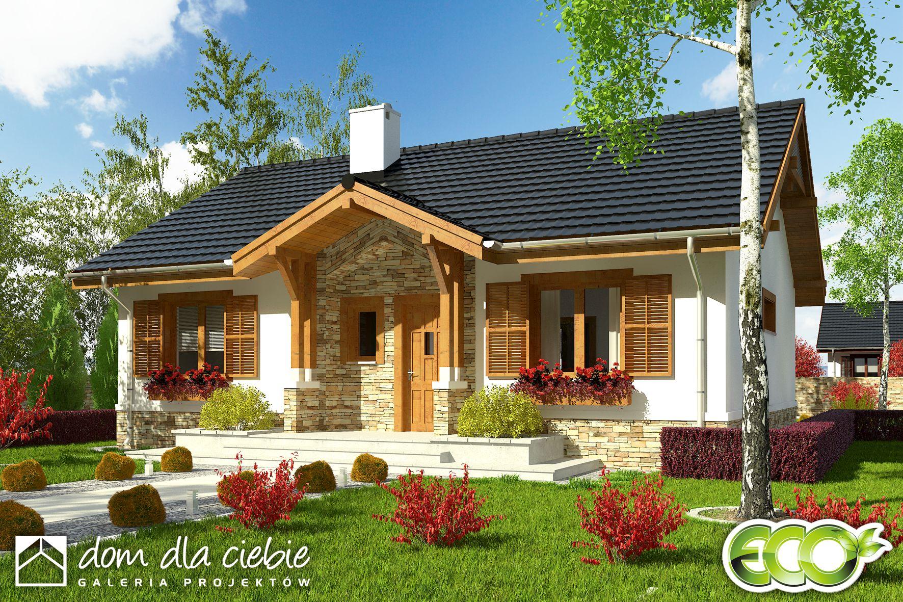 Projekt Domu Ares Wariant B Dom Dla Ciebie