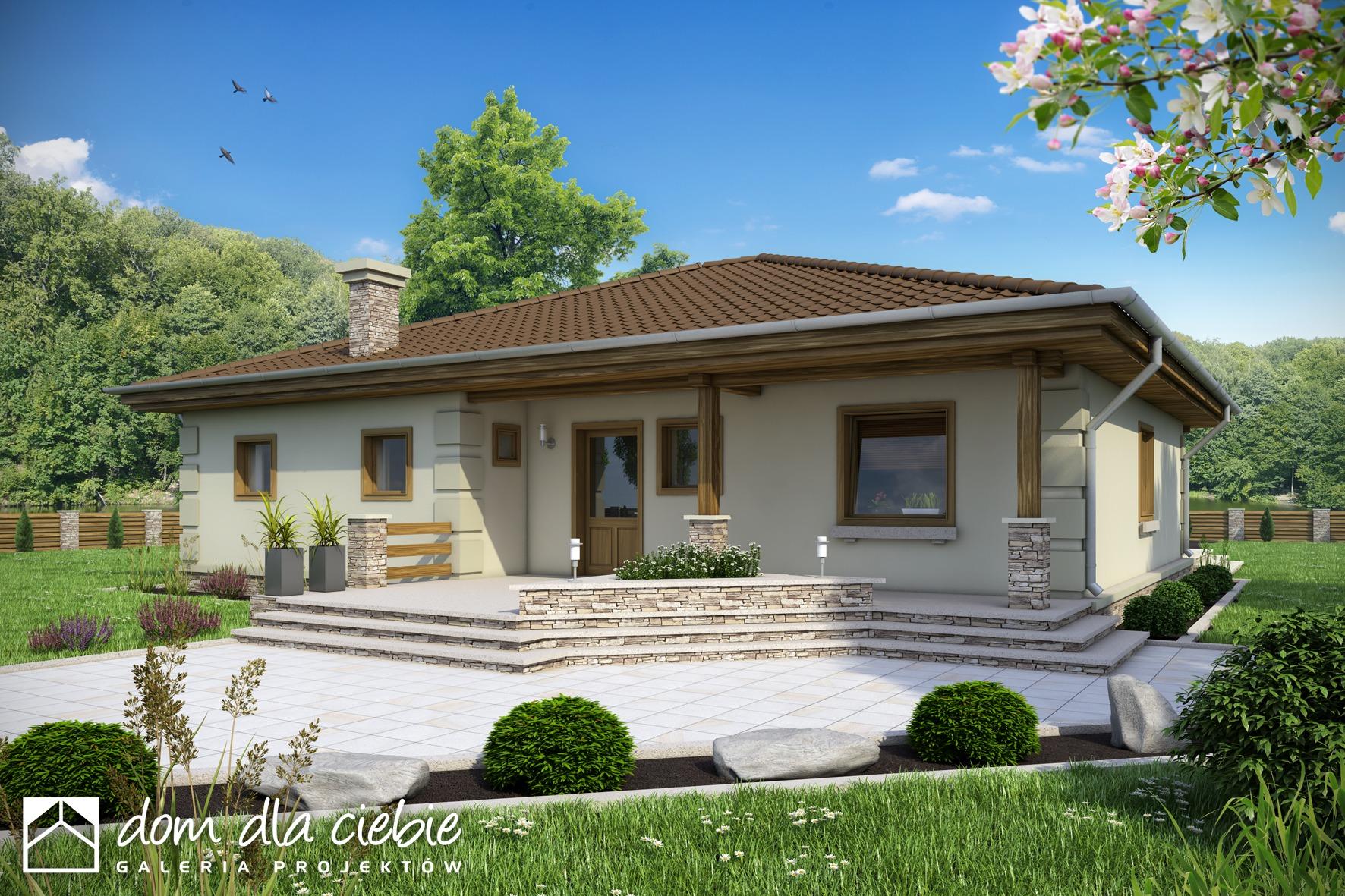 Projekt Domu Cyrus Ii Bez Garażu Wariant B Dom Dla Ciebie