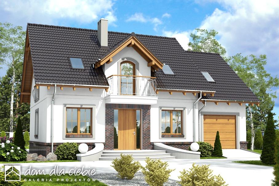 331197cdcfd01b Projekt domu Dom Dla Ciebie 5 A2 - wariant A2 - Dom Dla Ciebie