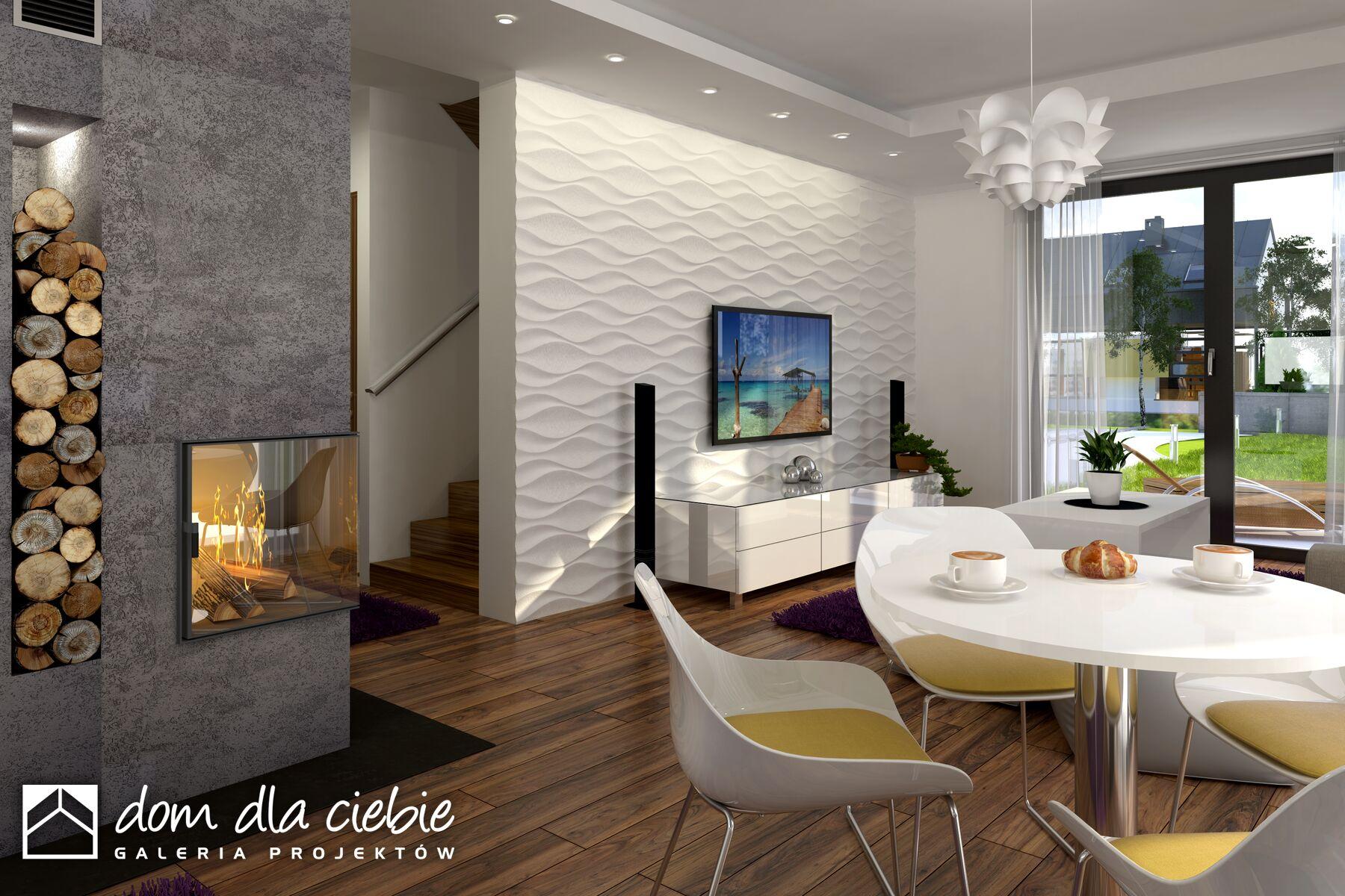 Projekt Domu Eco 1 Bez Garażu Wariant B Dom Dla Ciebie