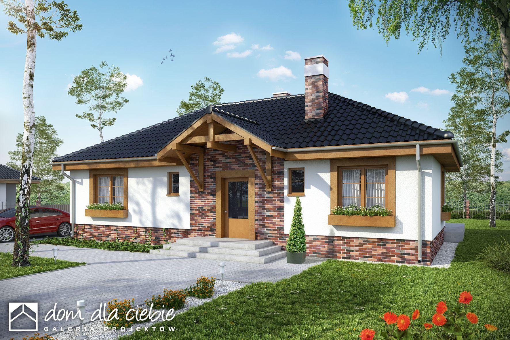 Projekt Domu Filipek Bez Garażu Wariant B Dom Dla Ciebie