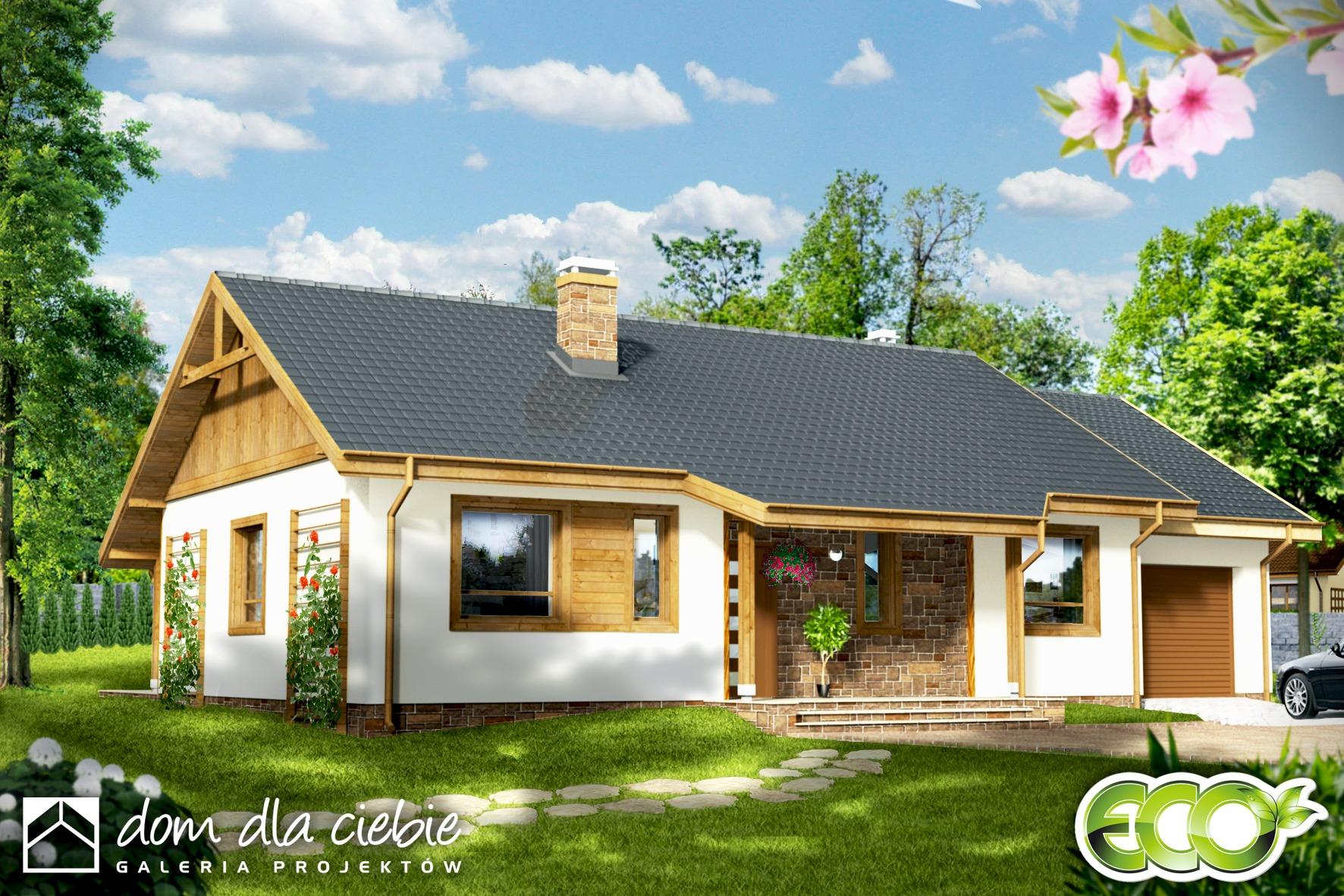 Projekt Domu Julek Wariant A Dom Dla Ciebie