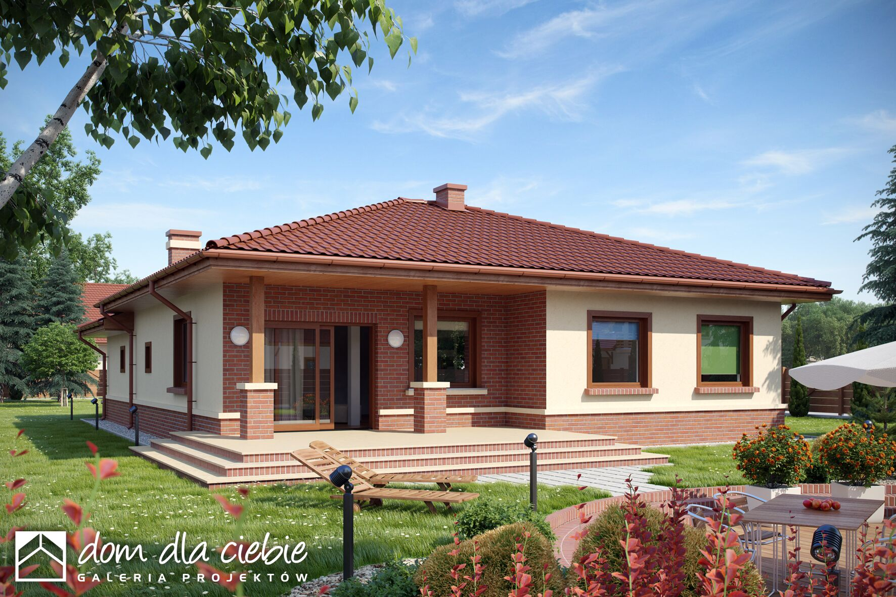Projekt domu wr bel wariant a dom dla ciebie - Que ver en la casa de campo ...