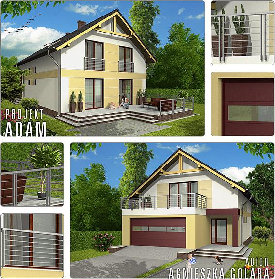 Adam Nowy Projekt Domu W Naszej Ofercie Projekty Domów
