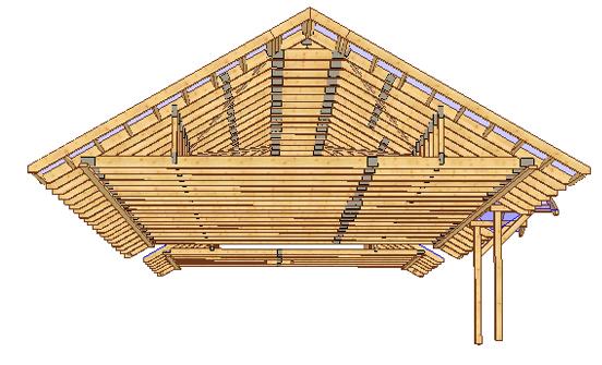 Najnowsze Projekt domu z prefabrykowaną więźbą dachową – Dom Dla Ciebie GP48